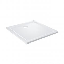 receveur de douche 100x100cm acrylique blanc (39300000)
