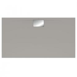 Receveur Architectura Metalrim, 1800 x 900 x 48 mm, gris (UDA1890ARA248V-3S)