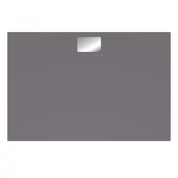 Receveur Architectura Metalrim, 1200 x 800 x 48 mm, anthracite (UDA1280ARA248V-1S)