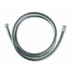 HOGAFLEX K-1 flexible de douche, synthétique, noir/chromé 150cm