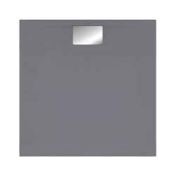 Receveur Architectura Metalrim, 800 x 800 x 48 mm, anthracite (UDA8080ARA148V-1S)