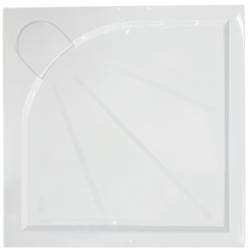 Receveur de douche SIKO carré 80x80 cm, marbre coulé SIKOLIMCC80Q