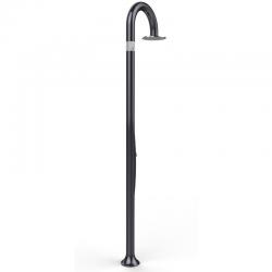 Douche extérieure Funny Yin avec Lave-pieds - perle noire