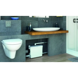 Sanibroyeur pour WC suspendu et toute une salle de bain