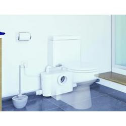Sanibroyeur pour toute une salle de bain