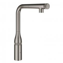 Grohe Essence SmartControl, mitigeur évier SmartControl, Hard Graphite brossé (31615AL0)