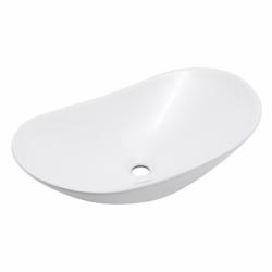 Swiss Aqua Technologies Vasque à poser Infinitio 61,5 x 36 x 15,5 cm sans trop-plein, blanc (SATINF61536)