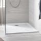 receveur en acrylique 800 X 800 blanc alpin (39302000)