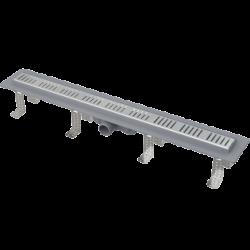Drain de douche simple pour grilles perforées 65 x 14,5 x 8 cm CPZ10-650M