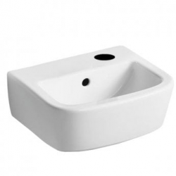 BETWEEN Lave-mains version droite 350 x 300 x 150 mm,blanc (T059701)