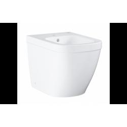 Euro Ceramic Bidet à poser, Blanc alpin (39340000)