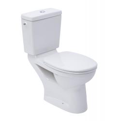 Omnia WC à poser complet avec Cuvette + Abattant + Réservoir
