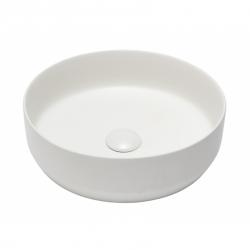 Swiss Aqua Technologies Vasque à poser Infinitio 39 x 39 x 12 cm sans trop-plein, blanc (SATINF3939M)