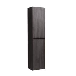 Meuble de salle de bain haut Naturel Verona 40x170x30 cm bois foncé